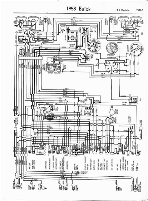 1958 Chevy Wiring Diagram Schematic by Buick Wiring Diagrams 1957 1965