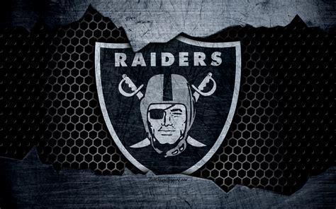wallpapers oakland raiders  logo nfl