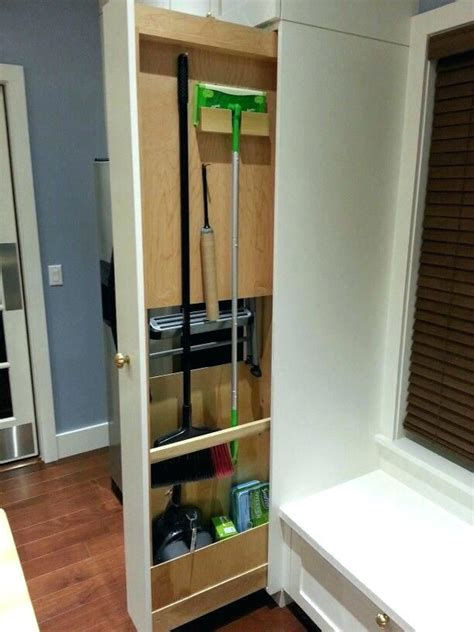 Broom Cupboard Ikea by Kitchen Broom Closet Kitchen Broom Free Standing Kitchen