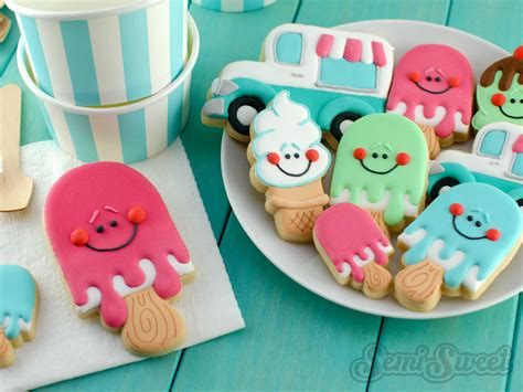 cookie by design how to make cone cookies semi sweet designs