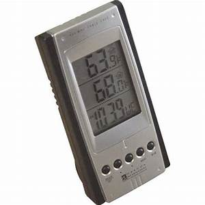 Wireless Remote Thermometer With Thermo Sensor Electronics