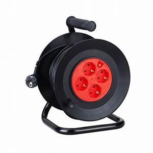Enrouleur De Cable Electrique : touret enrouleur lectrique 25m de cable eclairage design ~ Edinachiropracticcenter.com Idées de Décoration