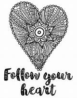 Coloring Heart Follow Pages Adult Colouring Printables Everyone Adults Number Mum Printable Favecrafts Books Inspirational Shot Slim Fat Screen sketch template