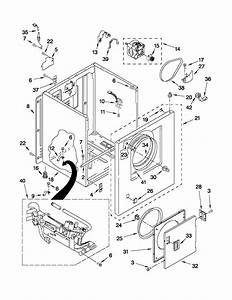 Kenmore Model 11070022011 Residential Dryer Genuine Parts