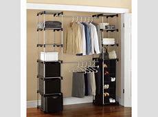 Mainstays Closet Storage, SilverBlack Walmartcom