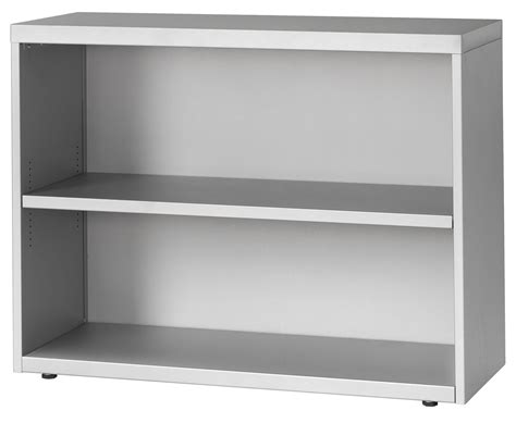 2-High, 42″ Wide, One Adjustable Shelf Bookcase ...