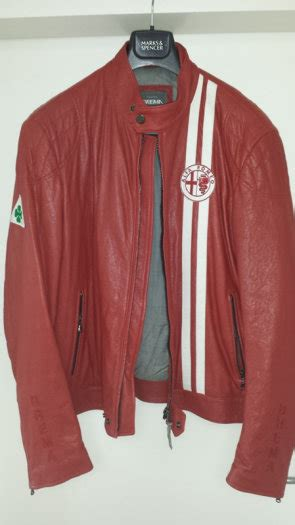 alfa romeo jacke alfa romeo leather jacket by brema for sale in knocklyon dublin from sprocket ie
