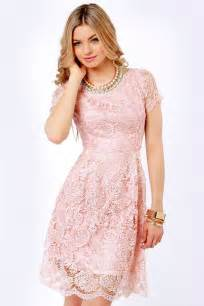 pink lace bridesmaid dresses pink lace dress dressed up