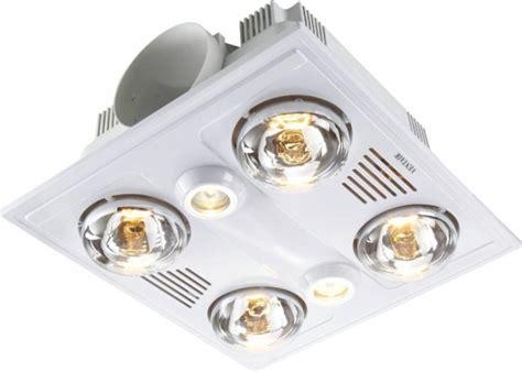 Bathroom Heat And Light by Lighting Australia Garrison 4 High Airflow Bathroom Heat