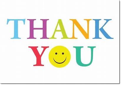 Thank Smiley Face Thankyou Cards