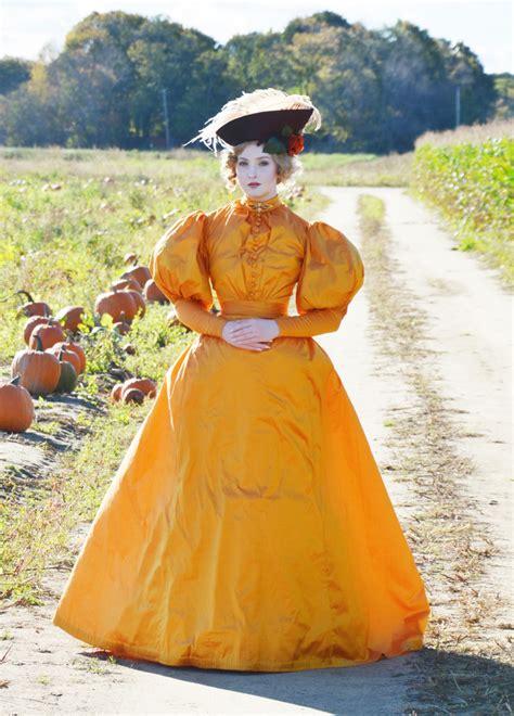 day dress  pumpkin gown  angela