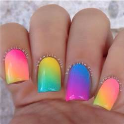 Colorful summer nails pictures photos and images for facebook