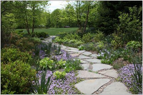landscape walkway beauteous garden walkways