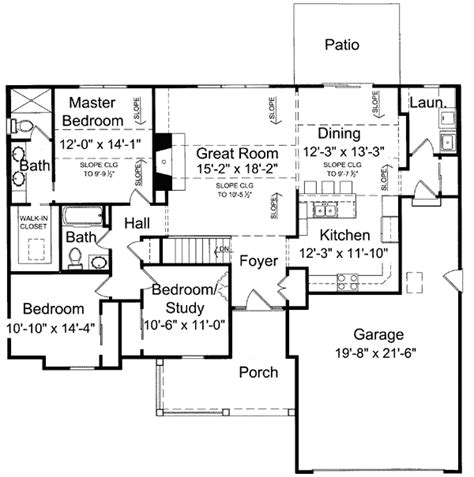 one level floor plans beautiful 1 level house plans 7 one level house plan smalltowndjs com