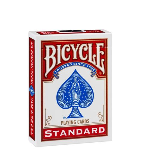 Printed by the united states playing card company on o Bicycle Standard Playing Cards Deck - Red - Buy Bicycle Standard Playing Cards Deck - Red Online ...
