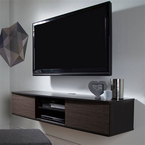 South Shore Agora Wall Mounted Tv Stand For Tvs Up To 56