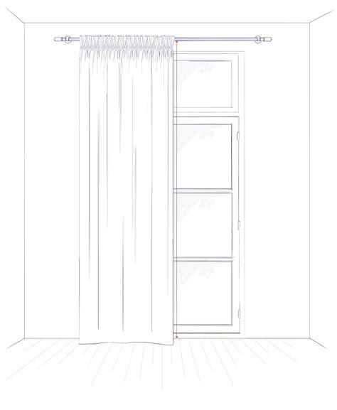 taille rideau de guide des tailles pour rideaux conseils astuces madura