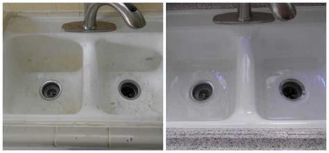 kitchen sink reglazing before after kitchen sink refinishing 2850