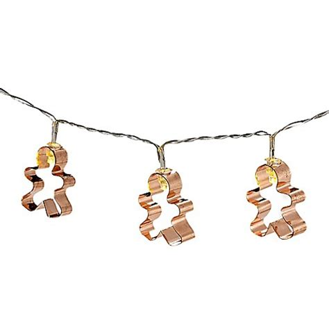 gingerbread string lights bedbathandbeyond com