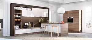 Cuisine contemporaine americaine cuisines cuisiniste aviva for Idee deco cuisine avec meuble style contemporain