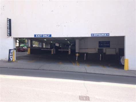 bridgestone arena parking garage l c garage at 144 5th ave n nashville parking