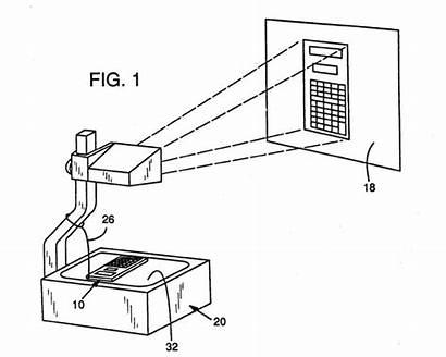 Overhead Projection Calculator Application Patent Datamath Transparent