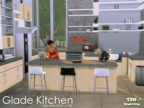 cool sims 3 kitchen ideas sim man123 s glade kitchen
