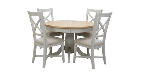 sofa and dining table set harbour round extending table set of 4 dining chairs