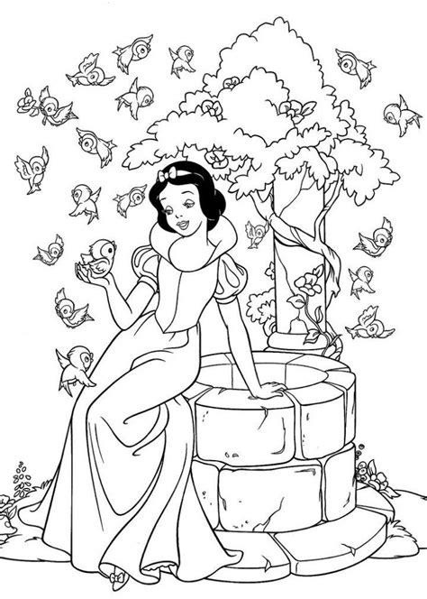 princess snow white coloring pages  kids printable  ausmalbilder disney malvorlagen