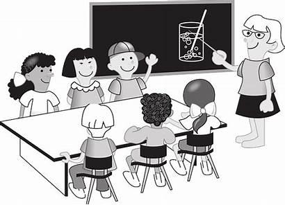 Teacher Pixabay Students Teachers Vector Class Classroom