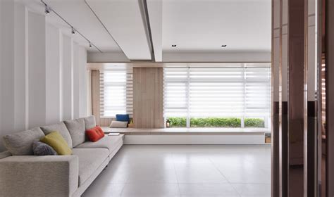 White Walls And In Floor Storage Make This Creative House Design Special by In Floor Storage Makes This Creative House Design Special