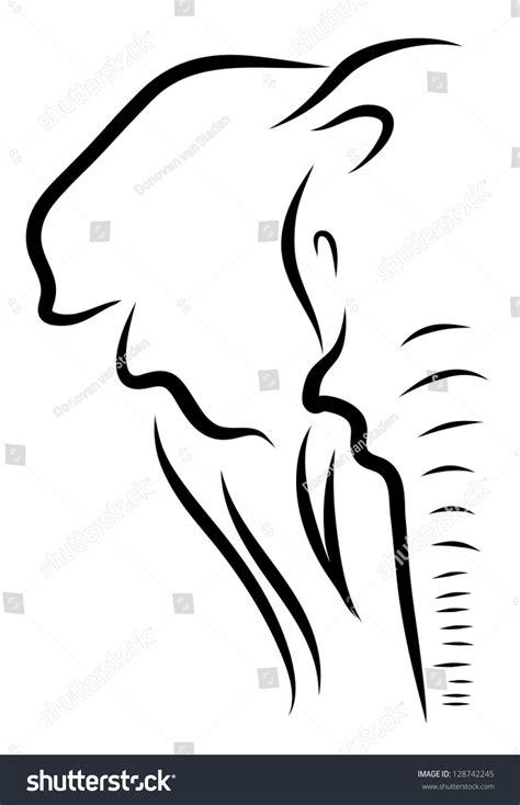 elephant  art stock vector  shutterstock