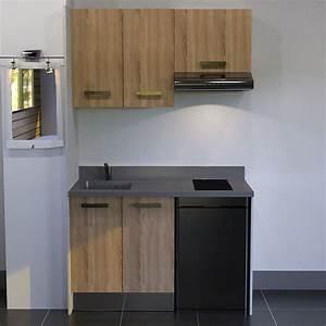 Kitchenette Pour Studio : frigo kitchenette amazing affordable kitchen steel ~ Premium-room.com Idées de Décoration