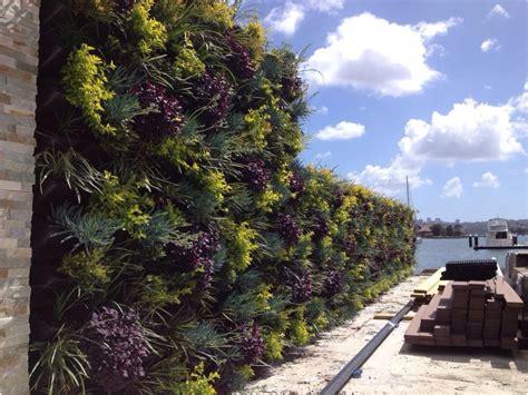 Vertical Garden Construction by Vertical Garden Design Installation Atlantis Corporation