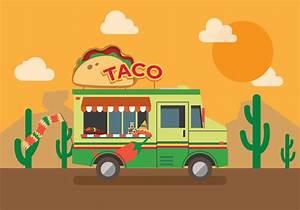 Vector Taco Truck Download Free Vector Art, Stock