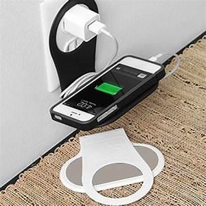 Support De Telephone : support pour t l phone portable noir ~ Melissatoandfro.com Idées de Décoration