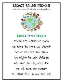 preschool earth day songs image result for recycling songs preschool preschool 827