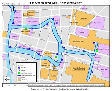map of san antonio riverwalk my