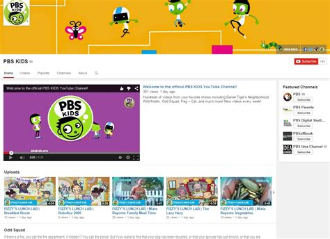 kidscreen archive pbs kids launches branded youtube