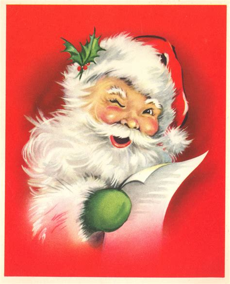 vintage santa claus public domain images great source of public domain images for your craft needs