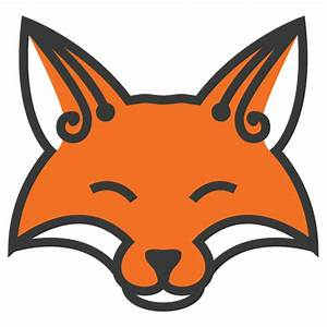 Fox Head Outline - ClipArt Best
