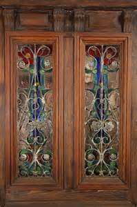 Entry Closet Doors by Stained Glass Entry Doors