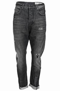 RELIGION MENS BLACK STONEWASH DENIM RIP EFFECT CROPPED TURN UP JEANS SIZE 30-36 | eBay