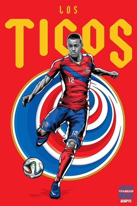 Espn Fifa World Cup Official Team Poster Designs