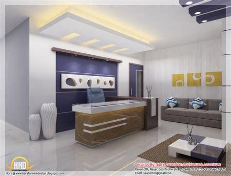 home office interior design ideas beautiful 3d interior office designs kerala home design and floor plans
