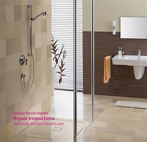 Bathroom Shower Faucet Handle Repair Instructions
