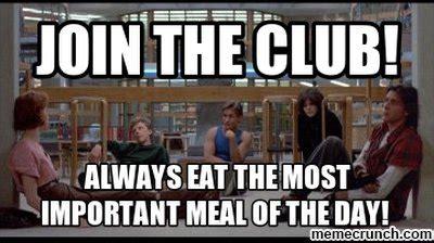 Breakfast Club Meme - breakfast club school poster