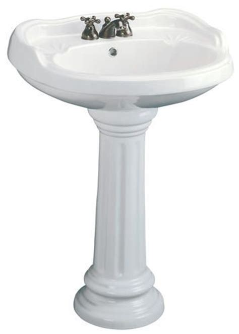 Menards Mansfield Pedestal Sink by Idea For A Pedestal Sink My Bathroom Remodel
