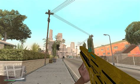 Gta San Andreas Gta V Pc Railgun Mod