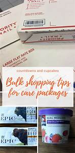Care Package Bulk Shopping Tips - Countdowns and Cupcakes